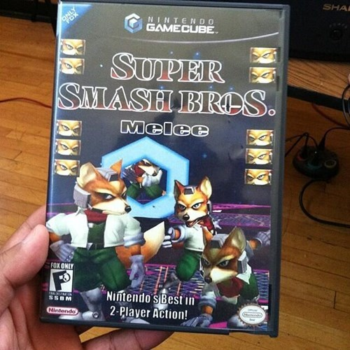 Final Destination gamecube fox only super smash bros melee