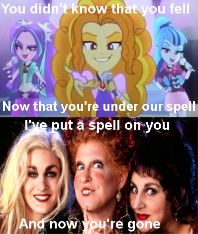 hocus pocus,spell,rainbow rocks,The Dazzlings