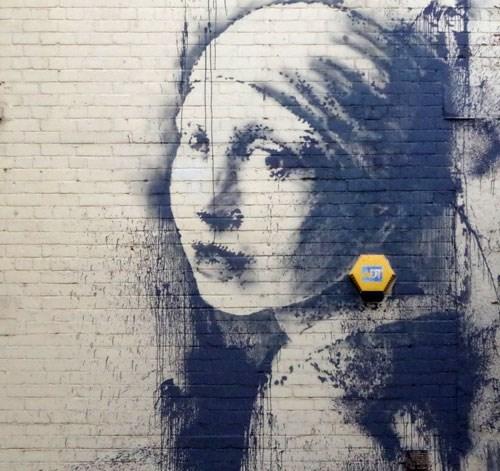 banksy,Street Art,hacked irl
