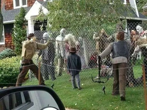 decoration halloween The Walking Dead g rated win - 8354336512