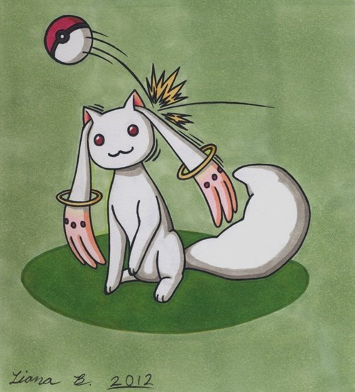 Fan Art Pokémon kyubey - 8354451200