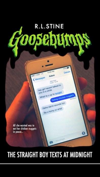 books goosebumps funny idiots text - 8354913792