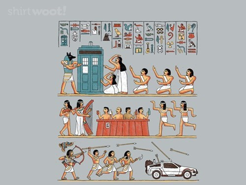 DeLorean time travel tardis tshirts - 8355134976