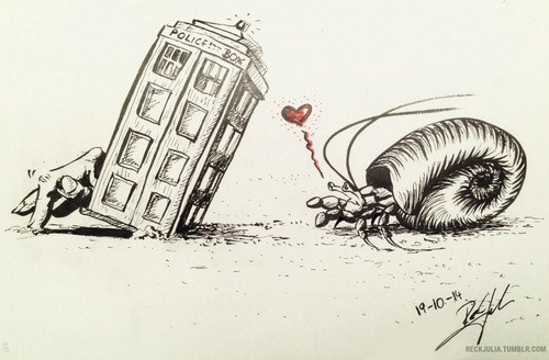 art,12th Doctor,hermit crab