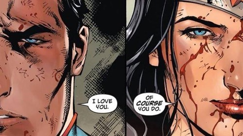 wonder woman Straight off the Page superman - 8355170816