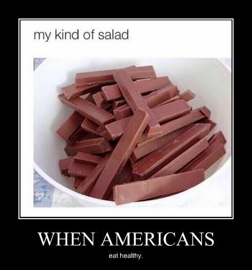 merica kit kat funny salad - 8355208192
