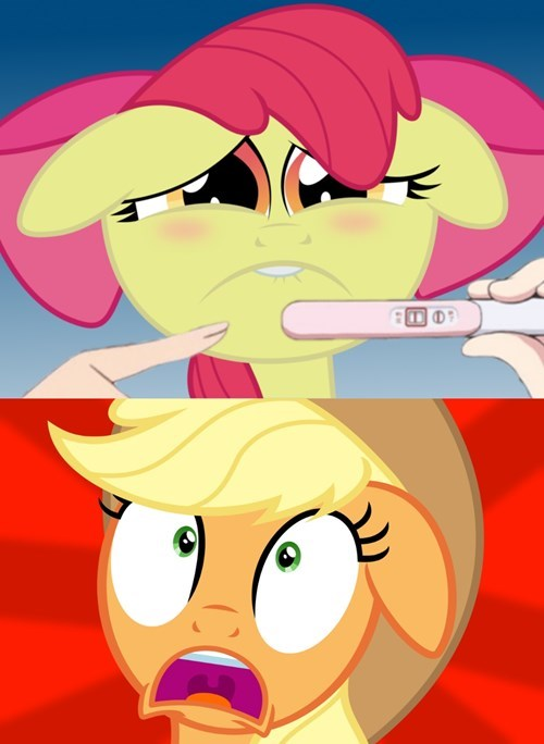 apple jack applebloom pregnancy test - 8355232512