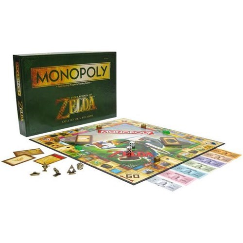 for sale,legend of zelda,monopoly