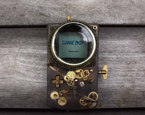 gameboy,Steampunk