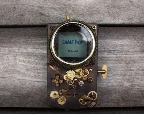 gameboy Steampunk - 8355269376
