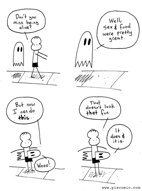 halloween ghosts sad but true web comics - 8355287552