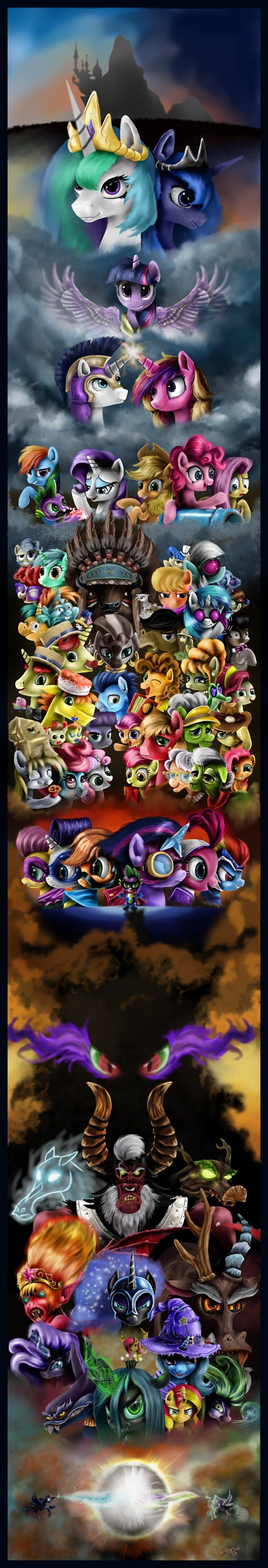 cast MLP Fan Art - 8355303936