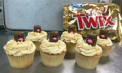 cupcakes diglett diglett wednesday snacks Pokémon sweets twix - 8355321600