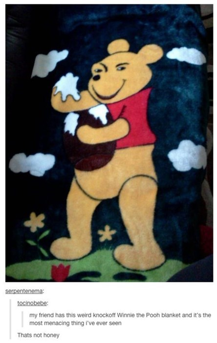 creepy winnie the pooh knockoff accidental creepy - 8355356160