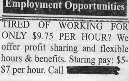 job,help wanted,newspaper,math