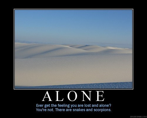 scorpions desert snakes alone funny - 8356101888