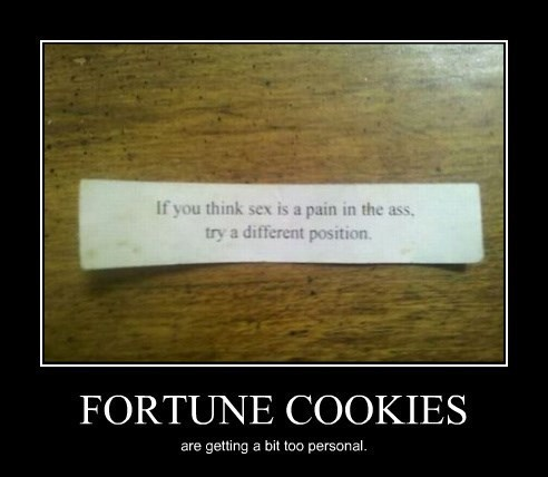 fortune cookie,wtf,sexy times,funny