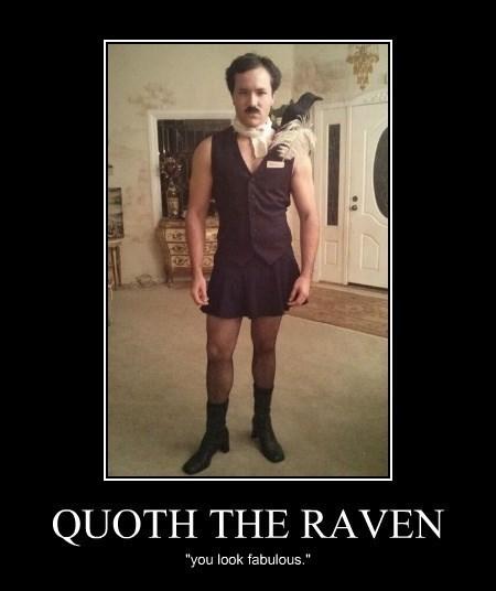 raven,edgar allen poe,funny