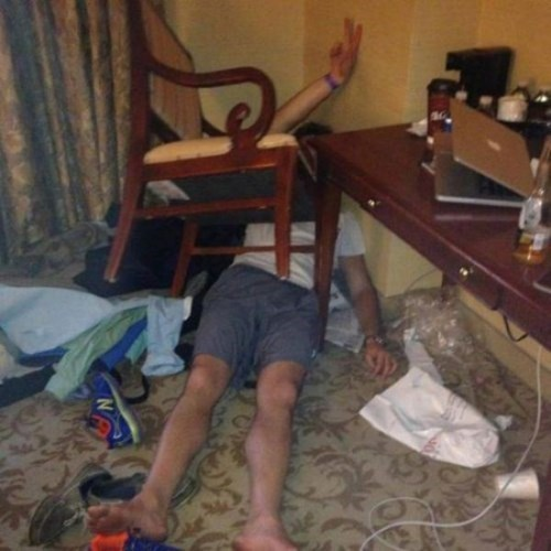 chair drunk passed out funny - 8356135168