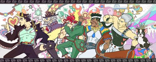 anime Fan Art JoJo's Bizarre Adventure - 8356151296