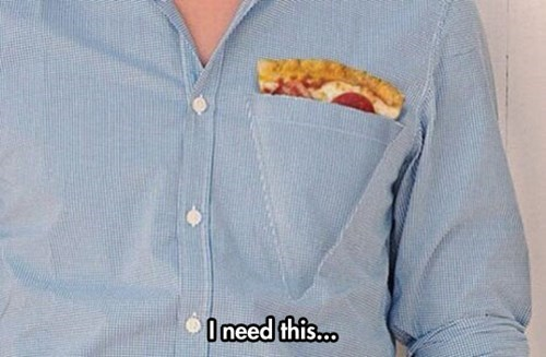 poorly dressed shirt pizza pocket - 8356161536