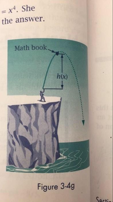 funny homework math textbook - 8356185088