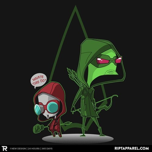 crossover,for sale,green arrow,Invader Zim