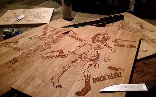 cooking halloween shut up and take my money zombie