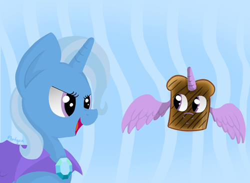 the great and powerful trixie Fan Art burnt toast - 8356332288