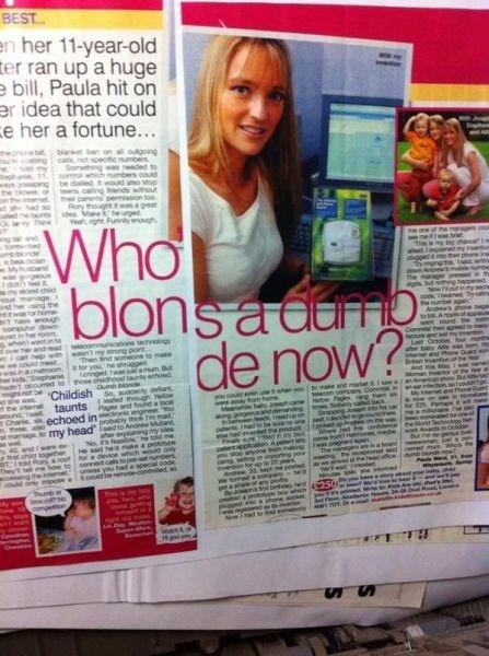 headline editing irony newspaper - 8356349440