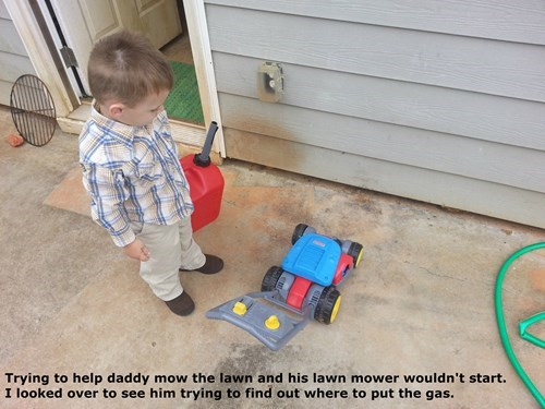 kids lawnmower parenting g rated - 8356596736