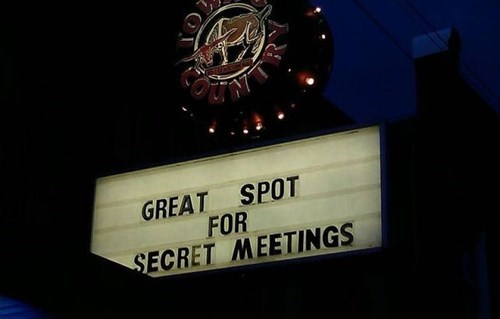 monday thru friday secret sign meeting - 8356612096