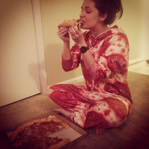 onesie poorly dressed pizza - 8356884992