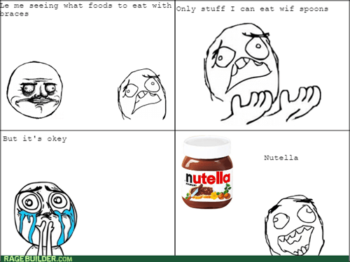 braces,nutella