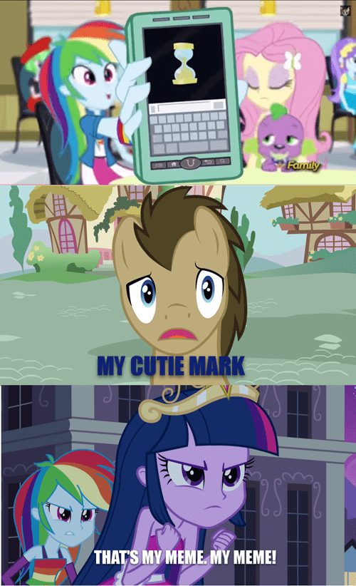 cutie mark doctor hooves that's my meme twilight sparkle - 8356927232