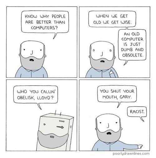 computers racism sad but true web comics - 8356997632