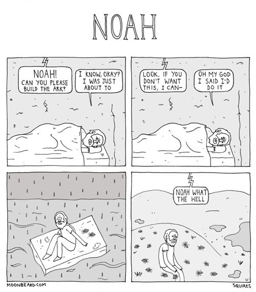 noahs ark sad but true web comics - 8356999936