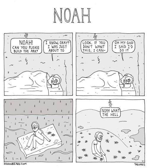 noahs ark sad but true web comics - 8356999936