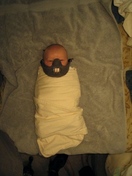 baby costume parenting silence of the lambs g rated - 8357102848