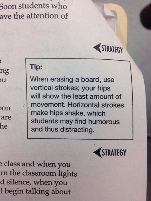 chalkboard eraser funny teachers g rated School of FAIL