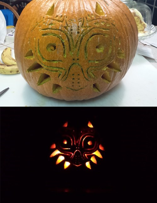 halloween pumpkins majoras mask - 8357160192