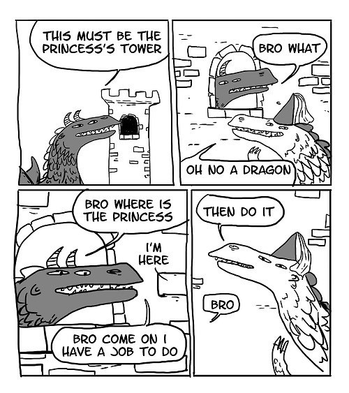 princess,dragons,web comics