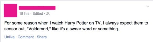Harry Potter,voldemort,swearing,failbook,g rated