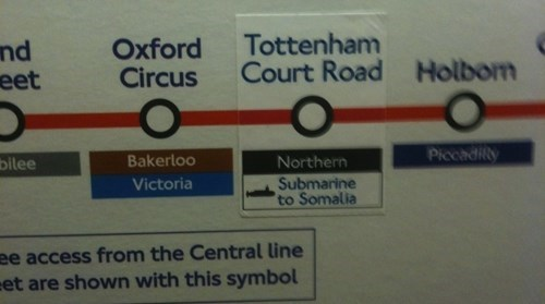 Text - Tottenham Court Road nd eet Oxford Circus Holbom Piccadity Bakerloo bilee Northern Submarine to Somalia Victoria ee access from the Central line et are shown with this symbol
