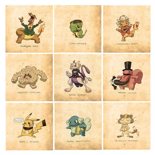 usa Pokémon presidents awesome - 8358168064