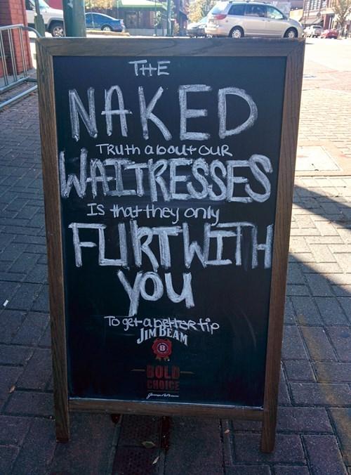 sign ads pub waitress - 8358201344
