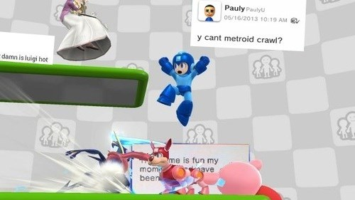 Miiverse,super smash bros,gaming,gamers