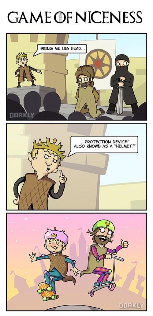 dorkly Game of Thrones web comics - 8358276608