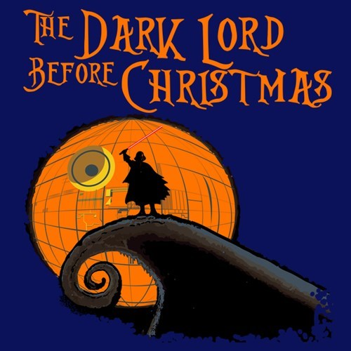 scifi star wars the nightmare before christmas for sale t shirts