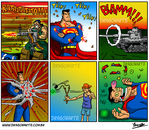 kryptonite,superman,web comics